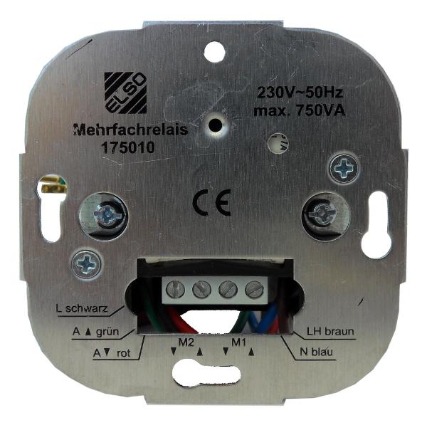 1 Stk Elektronisches Trennrelais für 2 Antriebe EL175010--