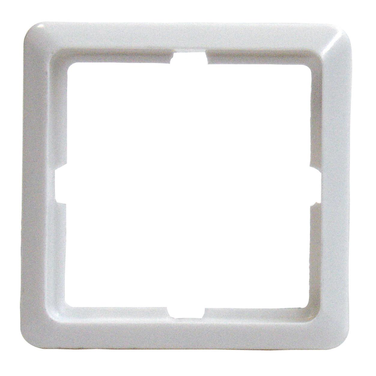 1 Stk Rahmen 1-fach, perlweiß Scala EL204110--