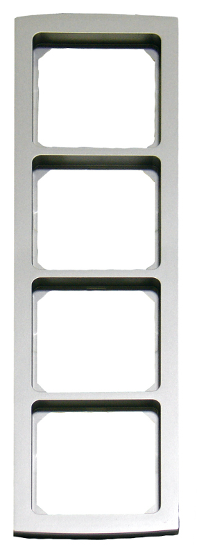 1 Stk Rahmen 4-fach, Alueffekt Riva EL2044219-