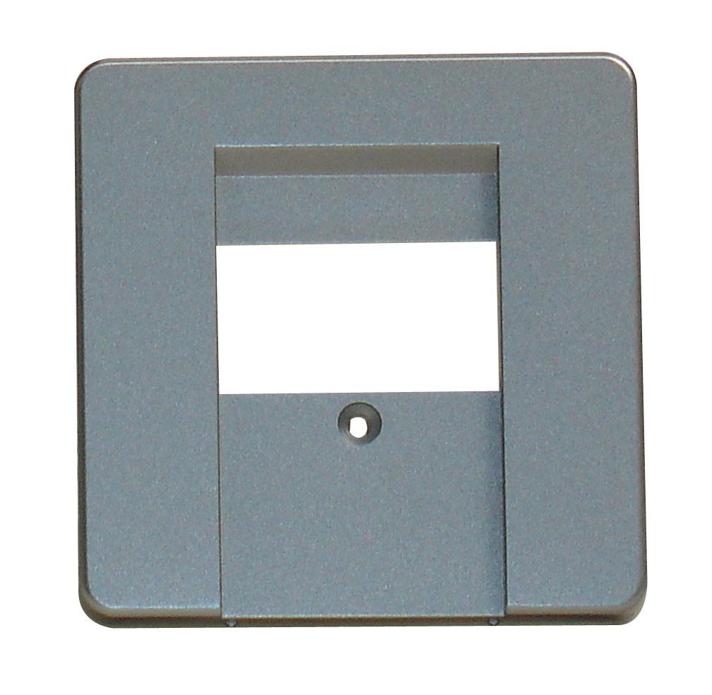 1 Stk Zentralplatte für Anschlussdose TDO/TAE 3-fach, Alueffekt EL2060119-