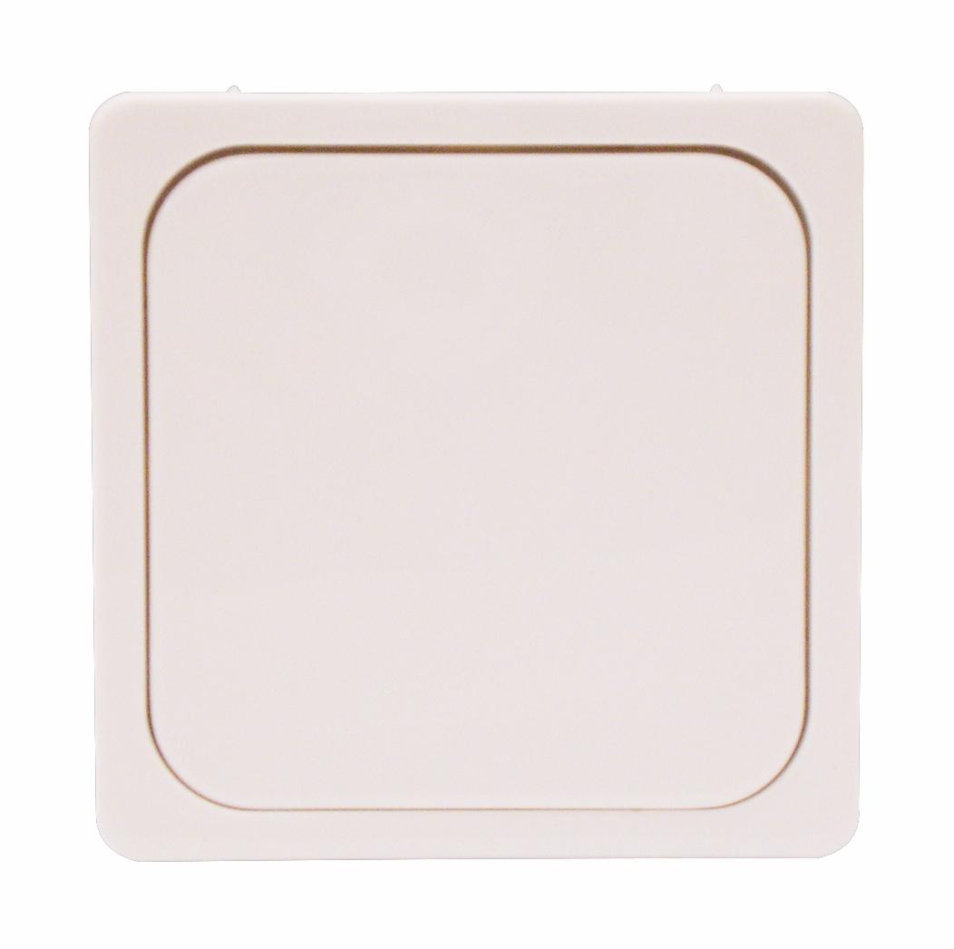 1 Stk Zentralplatte/Bedienfläche für Tastdimmereinsatz, reinweiß EL207044--