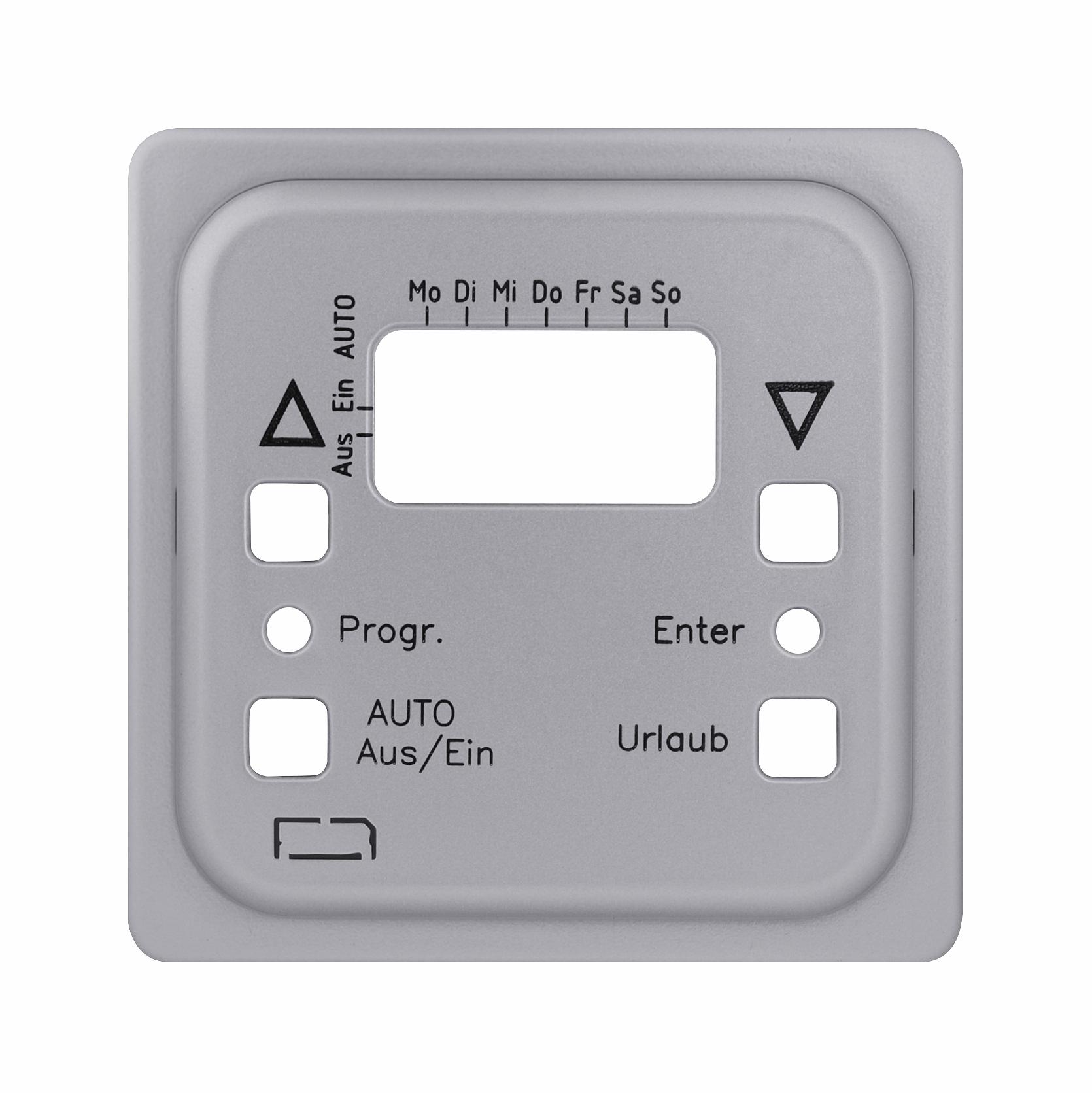 1 Stk Zentralplatte für Astro-Uhr mit Sensor Alu EL2071819-