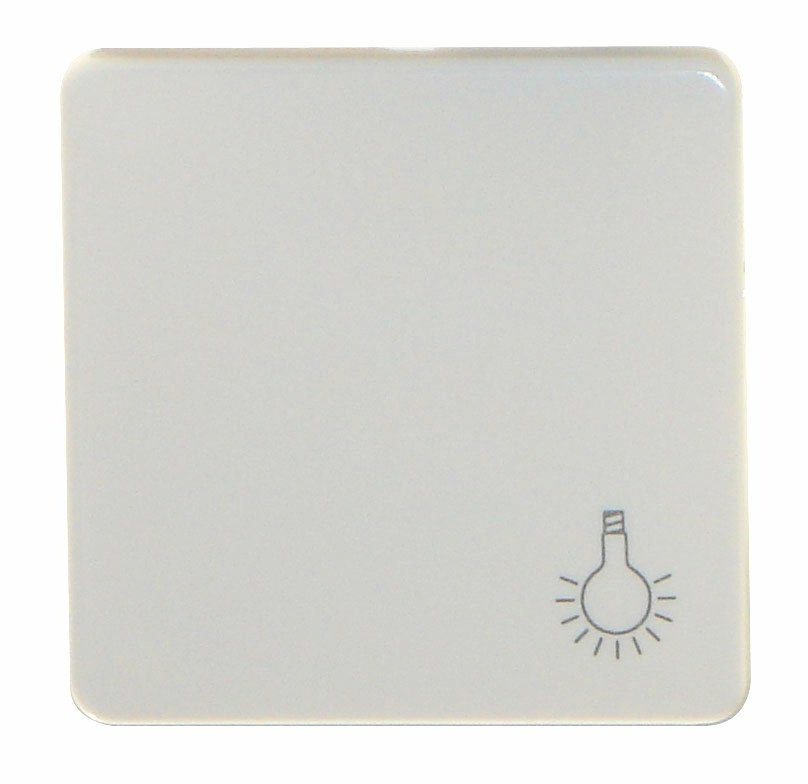 1 Stk Wippe mit Symbol Licht reinweiß EL213114--