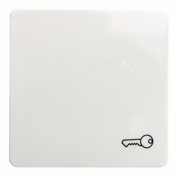 1 Stk Wippe mit Symbol Schlüssel, perlweiß EL213120--