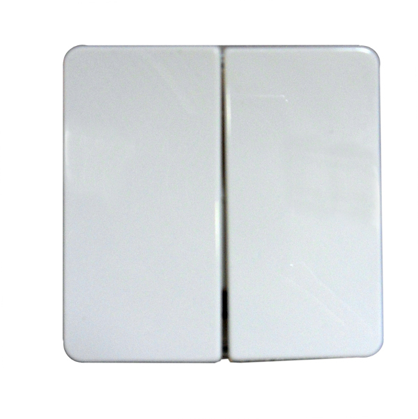 1 Stk UP-Doppel-Wechselschalter mit Wippe, Thermo bruchfest, pw EL221660--