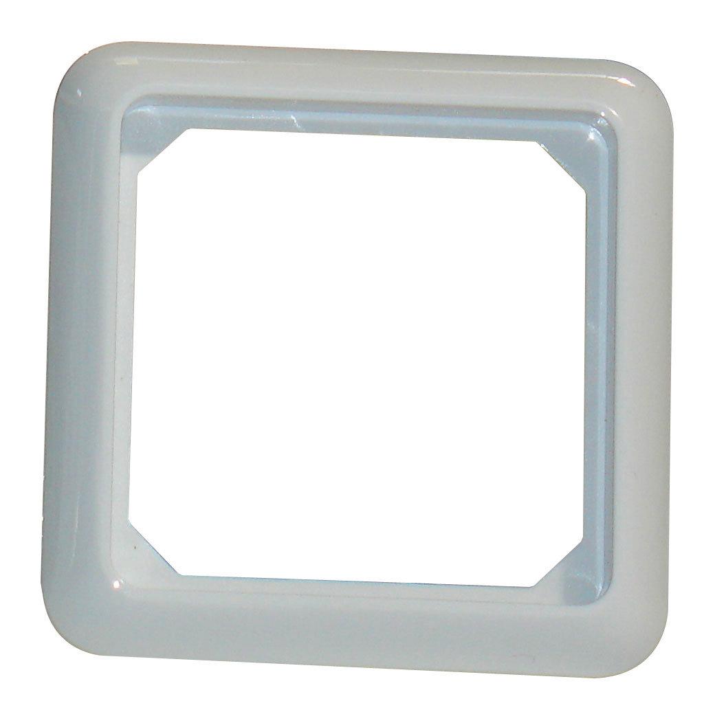 1 Stk Rahmen 1-fach IP44, perlweiß EL224140--