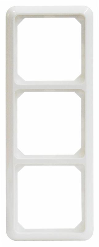 1 Stk Rahmen 3-fach, reinweiß, Thermo bruchfest, Fashion EL224304--