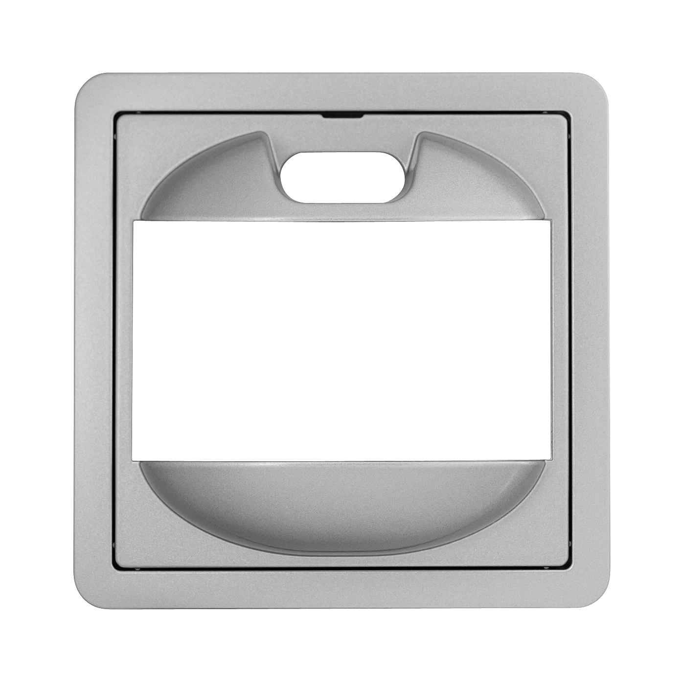 1 Stk Zentralplatte für PIR-Bewegungsmelder, F/S/R, Alueffekt EL2270819-