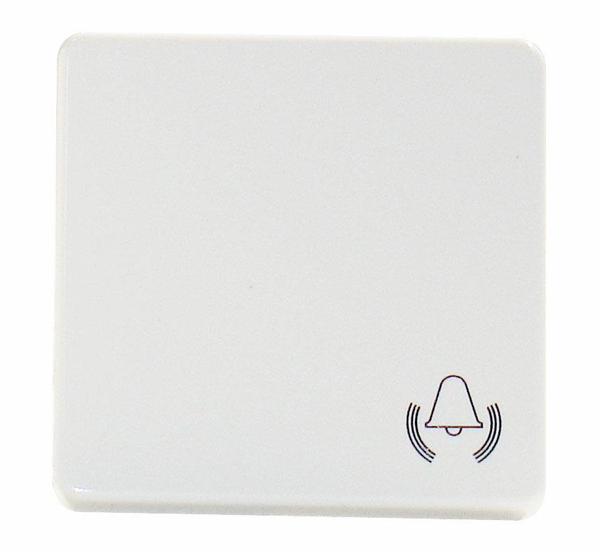 1 Stk Wippe mit Symbol Klingel, reinweiß EL233104--