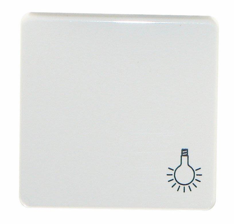 1 Stk Wippe mit Symbol Licht, perlweiß EL233110--