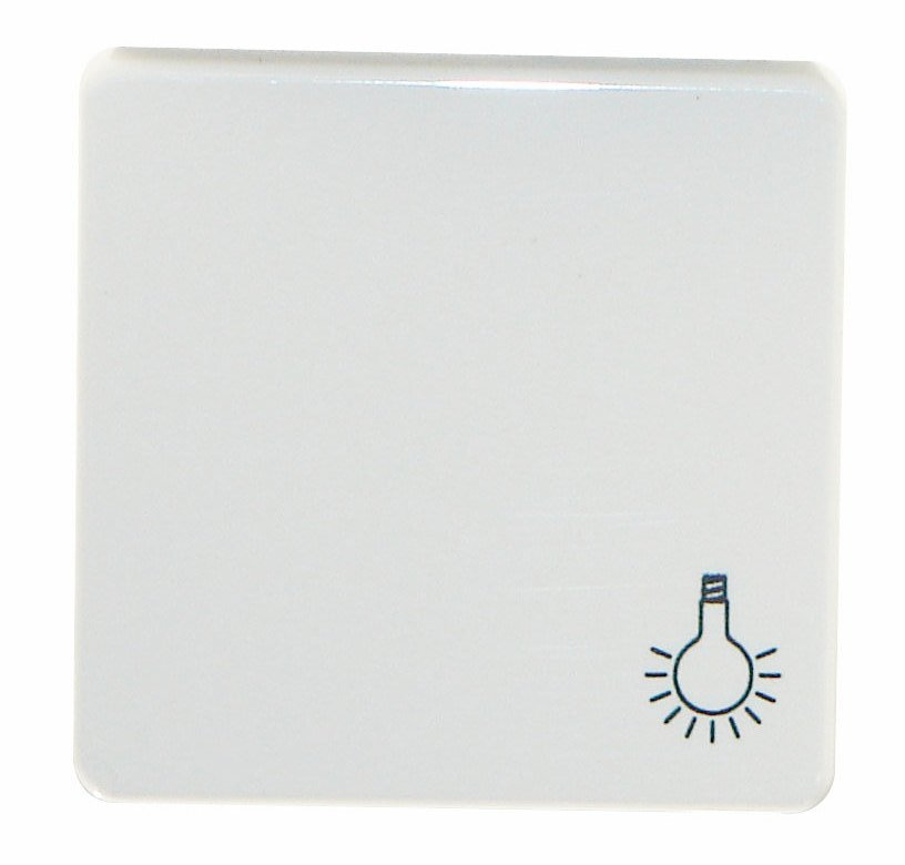 1 Stk Wippe mit Symbol Licht, reinweiß EL233114--
