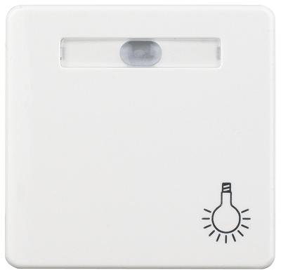 1 Stk Wippe beleuchtet mit Symbol Licht reinweiß EL233144--