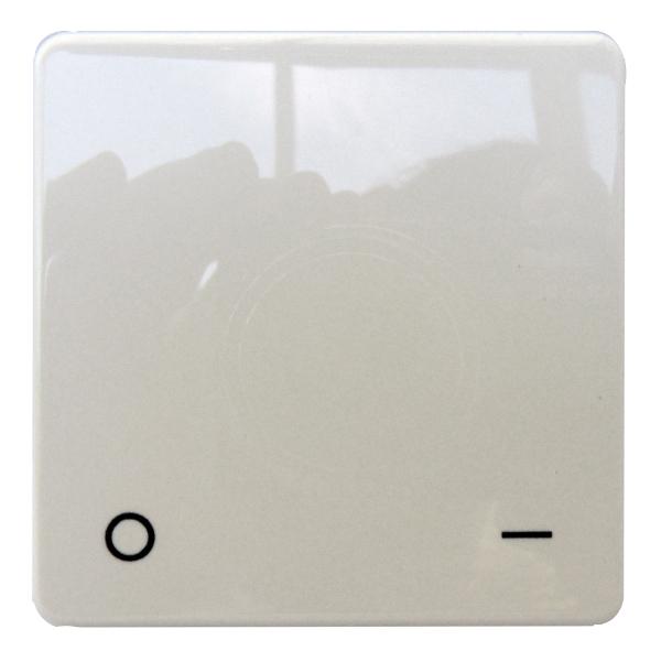 1 Stk Wippe für Ausschalter 2-polig, reinweiß EL233204--