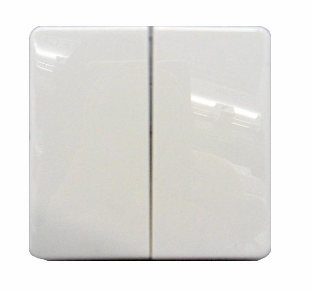 1 Stk Wippe für Serienschalter/Doppeltaster, perlweiß EL233500--