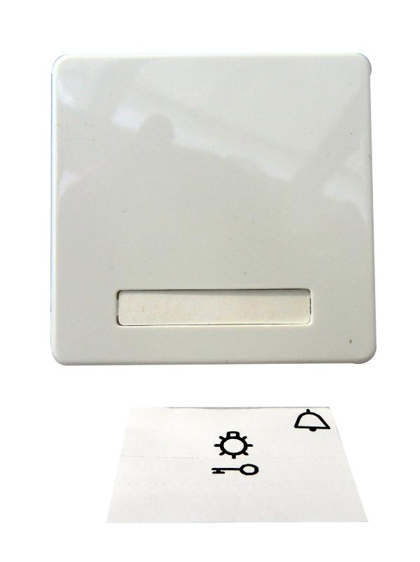 1 Stk Wippe mit Schriftfeld, beleuchtbar, reinweiß EL233624--