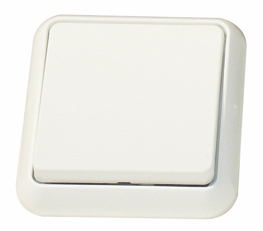 1 Stk UP-IP44 Universalschalter, Steckklemmen, reinweiß EL401604--