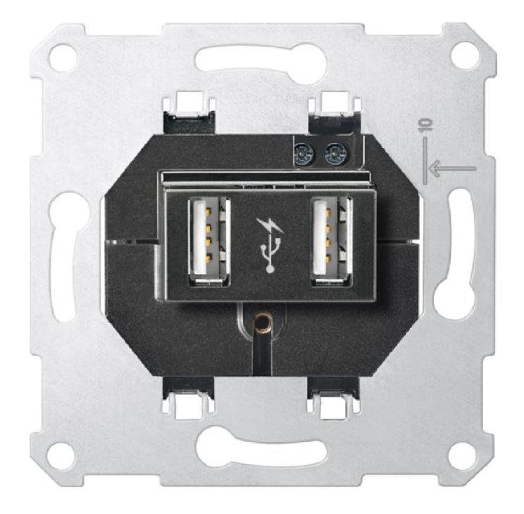 1 Stk USB UP-Ladesteckdose EL4366USB-