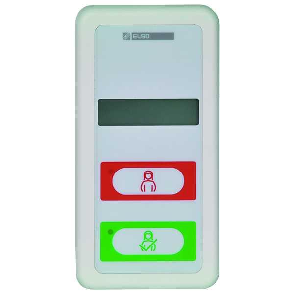 1 Stk Zimmermodul mit Ruf-/Abstelltaster und Display EL735020--