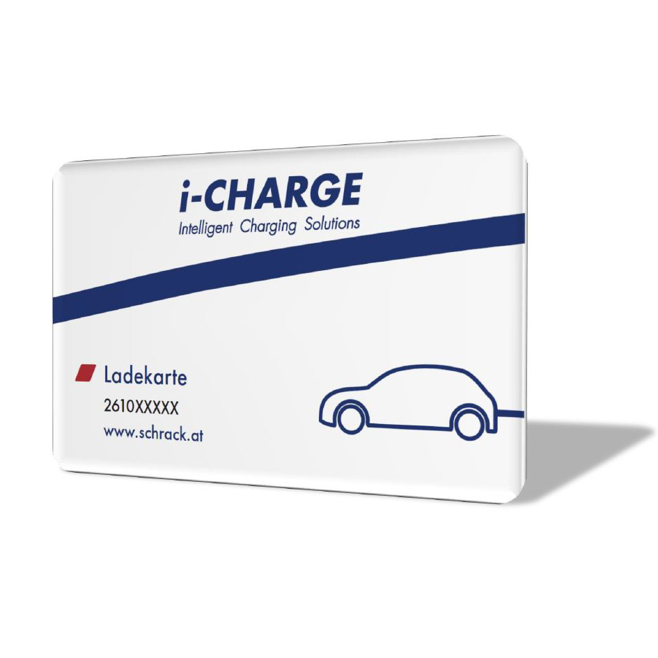 1 Stk i-CHARGE RFID-Karte für Ladestationen, Mifare DESfire 4K EMCRFIDC--