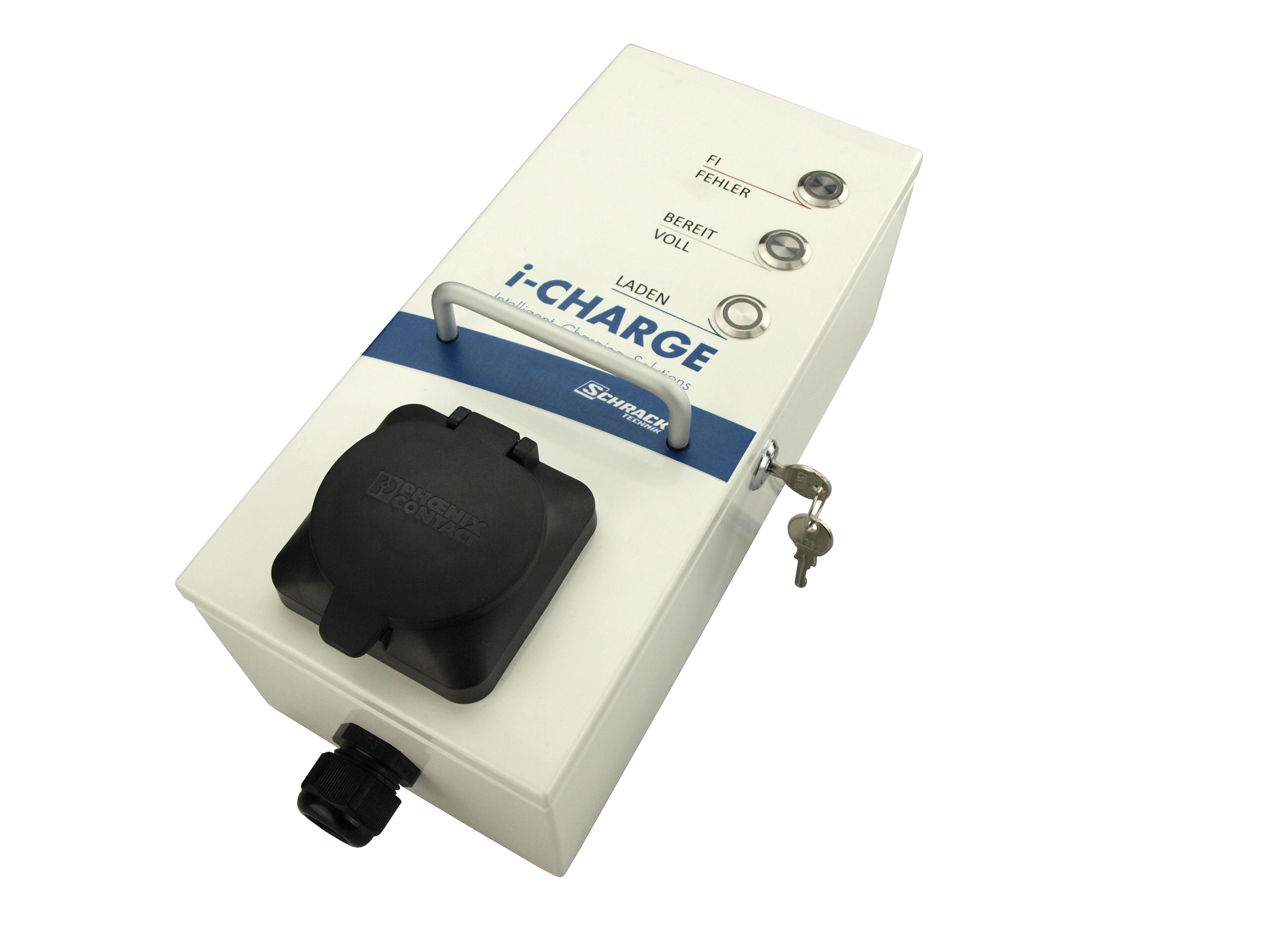1 Stk i-CHARGE HOME Eco Typ2 11kW, allstromsensitiver FI EMHOM413B-