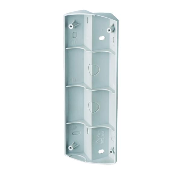 1 Stk AF Ecksockel für AF Strahler Edelstahloptik ESL520303-