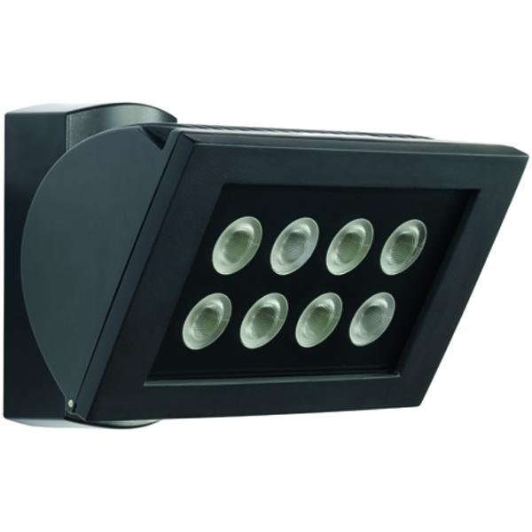 1 Stk AF S LED 300 STRAHLER 24W IP44 schwarz ESL520815-