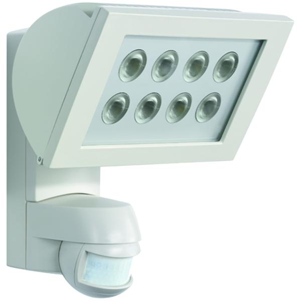 1 Stk AF S LED 300 STRAHLER+Bewegungsmelder 24W IP44 weiß ESL520907-