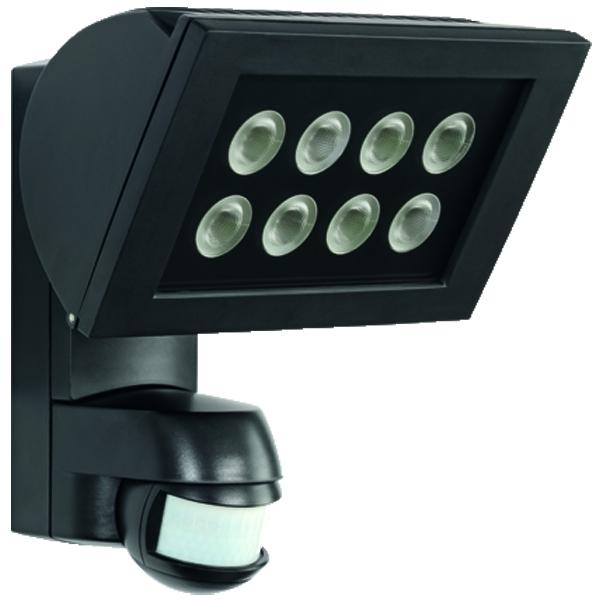 1 Stk AF S LED 300 STRAHLER+Bewegungsmelder 24W IP44 schwarz ESL520914-