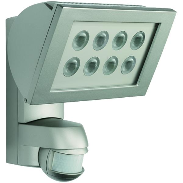 1 Stk AF S LED 300 STRAHLER+Bewegungsmelder 24W IP44 Edelstahlopti ESL520921-