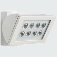 1 Stk AF S 300 LED 3000°K, Strahler Aluminium, 8 LEDs, 24 Watt, ws ESL521003-
