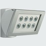 1 Stk AF S 300 LED 3000°K, Strahler Aluminium, 8 LEDs, 24 Watt, es ESL521027-