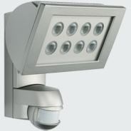 1 Stk AF 300/200i LED 3000°K, Strahler + Melder Alu, 8LEDs,24W, es ESL521126-