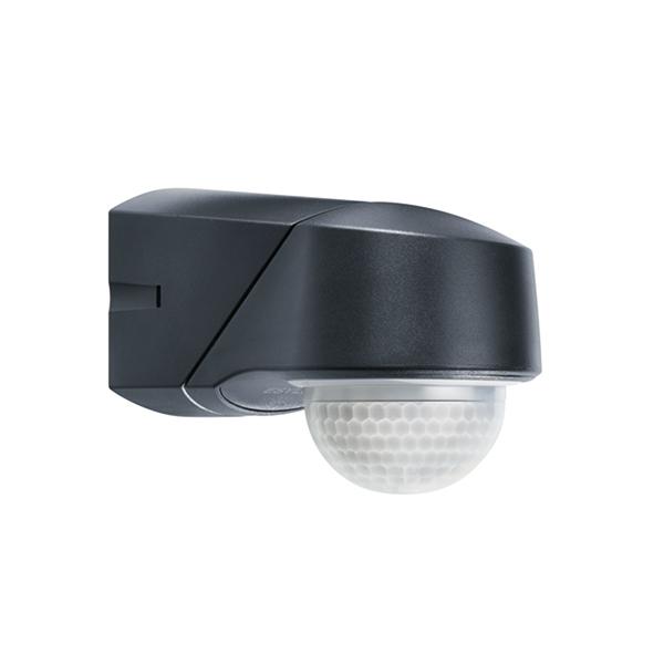 1 Stk RC 280i Infrarot Bewegungsmelder Aufputz IP54, schwarz ESM015915-