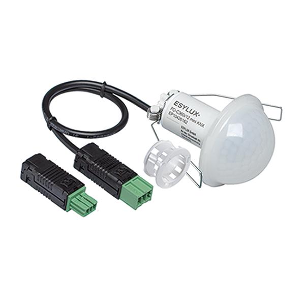 1 Stk PD-C360i/12 mini KNX ws Deckeneinbau-Präsenzmelder IR 360° ESP426162-