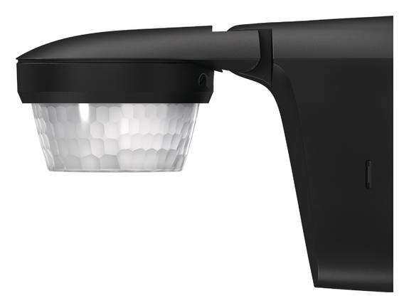 1 Stk Bewegungsmelder, Wand/Deckenmontage, 360°/Ø16m/IP55, schwarz EST1010511