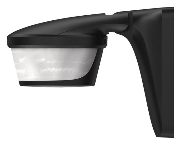 1 Stk KNX-Bewegungsmelder, Wand/Deckenmontage, 300°/IP55, schwarz EST1019611