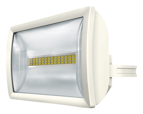 1 Stk LED Strahler, Wandmontage, 20 Watt, IP55, weiß  EST1020713
