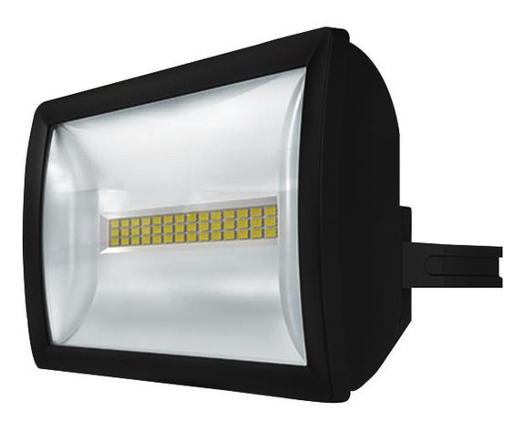 1 Stk LED Strahler, Wandmontage, 20 Watt, IP55, schwarz EST1020714