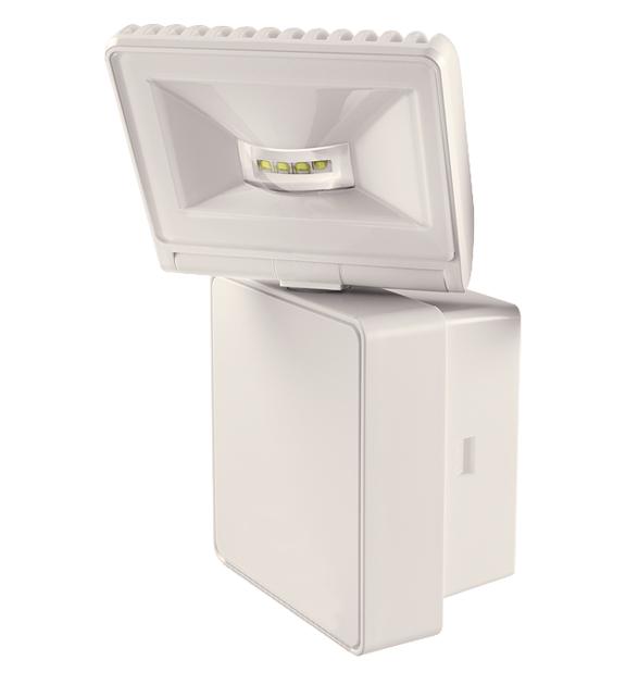 1 Stk LED Strahler, Wandmontage, 8 Watt, warmweiß, IP44, weiß EST1020751