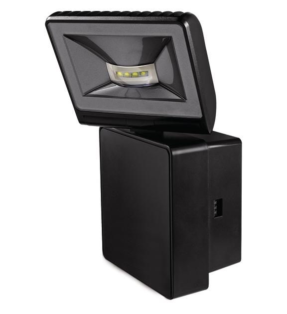 1 Stk LED Strahler, Wandmontage, 8 Watt, warmweiß, IP44, schwarz EST1020752