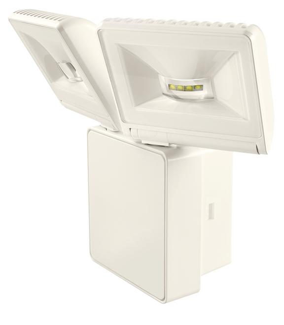 1 Stk LED Strahler, Wandmontage, 16 Watt, warmweiß, IP44, weiß EST1020753