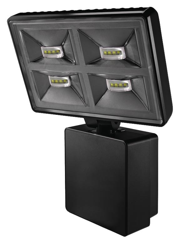 1 Stk LED Strahler, Wandmontage, 32 Watt, IP55, schwarz EST1020776