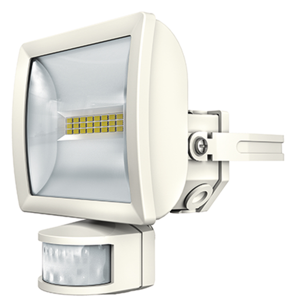 1 Stk LED Strahler mit Bewegungsmelder, 10 Watt/180°/12m, weiß EST1020911