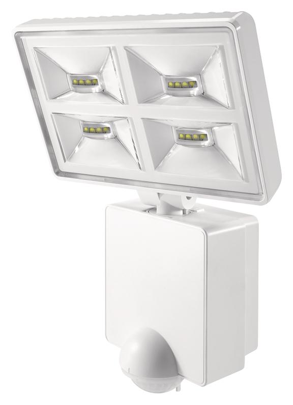 1 Stk LED Strahler mit Bewegungsmelder, 32W/180°/9m, IP55, weiß EST1020975