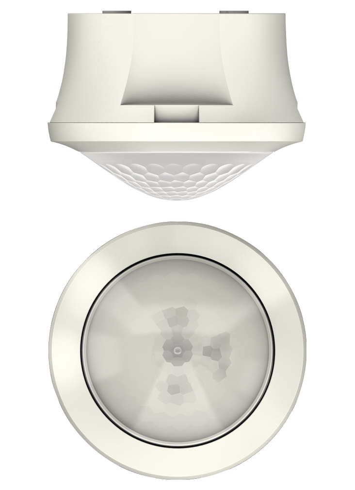 1 Stk Bewegungsmelder für Deckenmontage, 360°/Ø8m/IP54, weiß EST1030550
