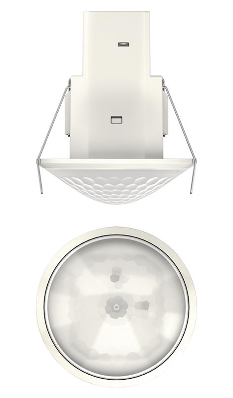 1 Stk Bewegungsmelder für Deckenmontage, 360°/Ø8m/IP54, weiß EST1030560