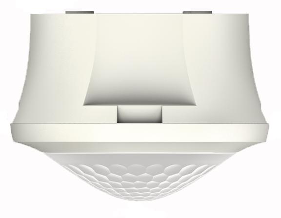 1 Stk KNX-Bewegungsmelder für Deckenmontage, 360°/Ø8m/IP54, weiß EST1039550