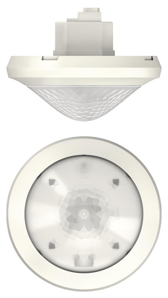 1 Stk KNX-Bewegungsmelder für Deckenmontage, 360°/452m²/IP54, weiß EST1039600