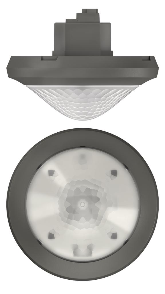 1 Stk KNX-Bewegungsmelder für Deckenmontage, 360°/Ø8m/IP54, grau EST1039601
