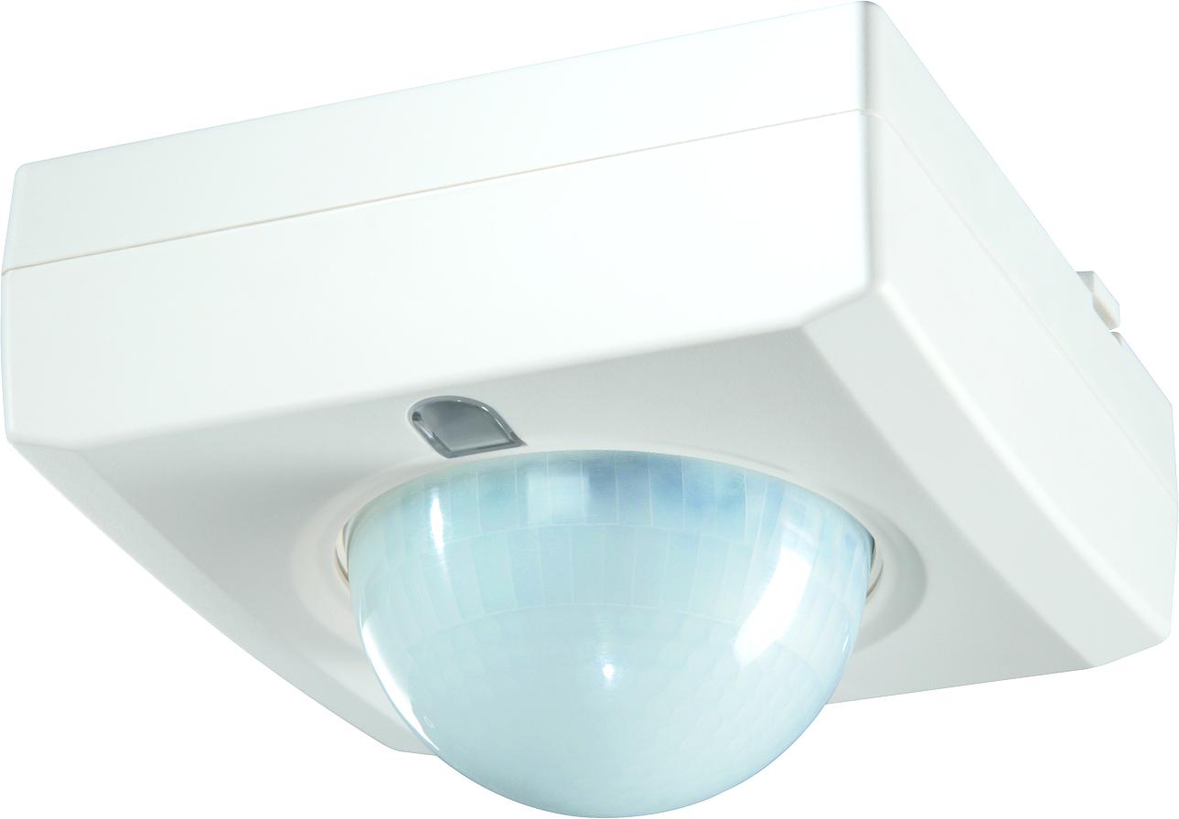 1 Stk Präsenzmelder für Deckenmontage, 360°, Ø12m, IP41, weiß EST1040362